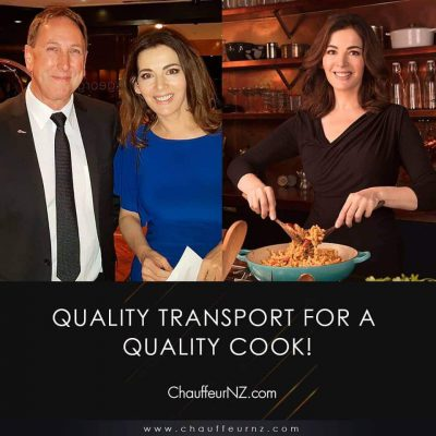 ChauffeurNZ with Nigella Lawson